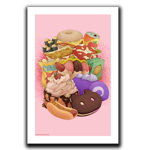Snack Time Art Print