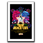 Last One Out of Beach City Art Print