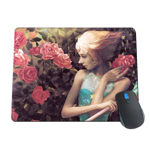 Pearl in Roses Mousepad