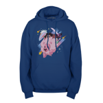 Lion Connie and Steven Pullover Hoodie