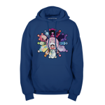 Stained Glass Gems Pullover Hoodie