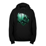 The Dark Fusion Malachite Pullover Hoodie