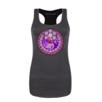 Pink Diamond Stained Glass Women's Tank Top