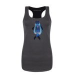 Blue Heart Women's Tank Top