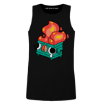 Dumpster Fire Men's Tank Top