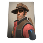Team Fortress 2 Sniper Portrait Mousepad