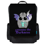 Atticus Consume the Darkness Backpack Flap