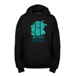 Butt First, Coffee! Pullover Hoodie