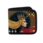 The Empress Canvas Wallet