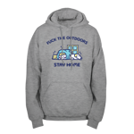 Stay Home Pullover Hoodie