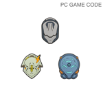 Tenno Charm Set With PC Code