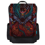 Valkyr Skin Print Backpack Flap