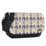 Vallis Cuddlies Toss Print Sublimated Messenger Flap
