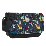 Crazy about Kavats Sublimated Messenger Flap