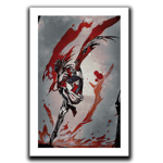 Garuda, Crimson Goddess Art Print