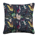 Crazy about Kavats White Pillow Case