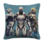 Trio White Pillow Case