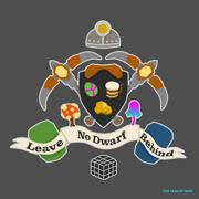 Leave No Dwarf Behind Coat of Arms